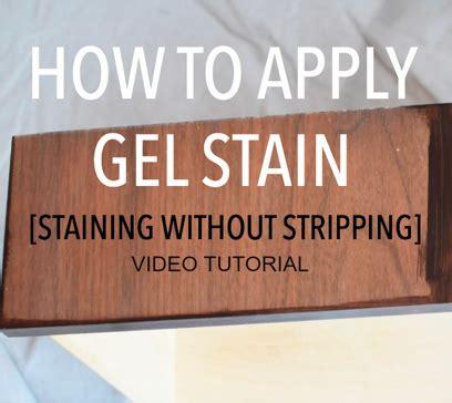 gel stain video tutorial staining  stripping