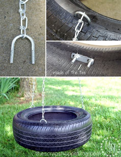 how to build tire swing how to make a tire swing today s creative life