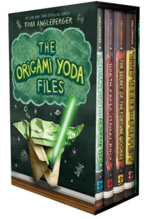 Yoda Origami Book - the origami yoda files boxed set by tom angleberger