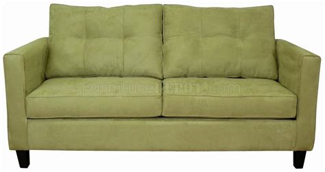Modern Loveseat Willow Fabric Modern Sofa Loveseat Set W Options