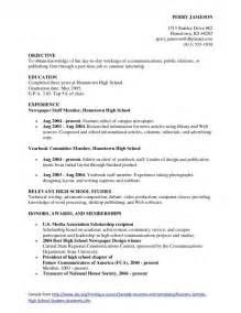 high school student resume sle school resume tips 49 images high school resume exles