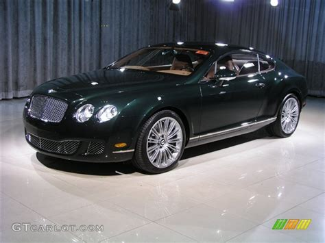 bentley dark green 2008 cumbrian green bentley continental gt speed 248858