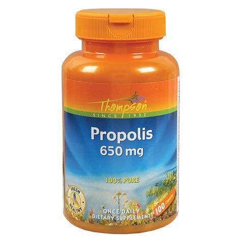 Propolis Detox by Thompson Propolis 650 Mg 100 Caps Evitamins