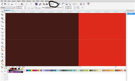 corel draw x7 zoom zoom problem coreldraw x7 coreldraw graphics suite x7