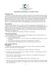 A Thesis Paper Research Paper Outline