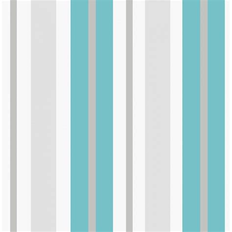 Striper White decor ceramica stripe wallpaper teal white silver
