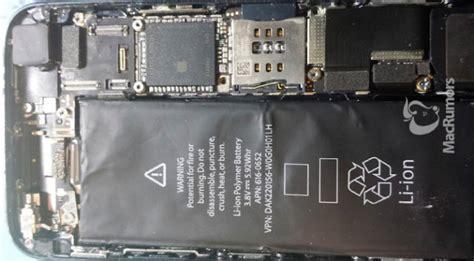 Iphone 5 Interior iphone 5s leak reveals larger battery dual led flash new prototype soc extremetech