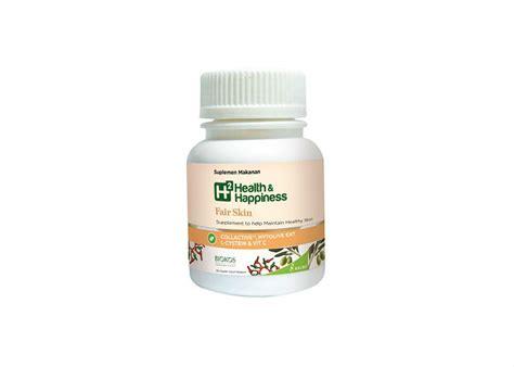 Suplemen Health And Happiness Review Atasi Flek Hitam Dengan Suplemen Kulit H2 Health