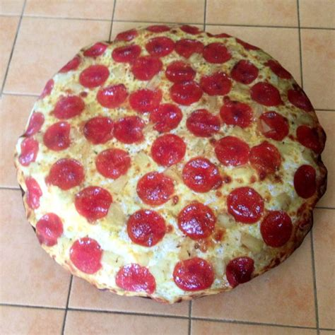 pizza bed items similar to pepperoni pizza dog bed on etsy