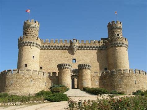historical castles famous castles manzanares el real castle