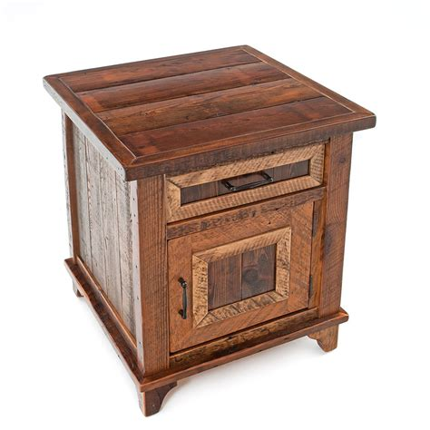Nightstand With Door And Drawer Pagosa Springs 1 Door 1 Drawer Nightstand Green Gables