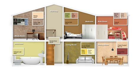 Nippon Exterior Paint - id themed colours earth tones