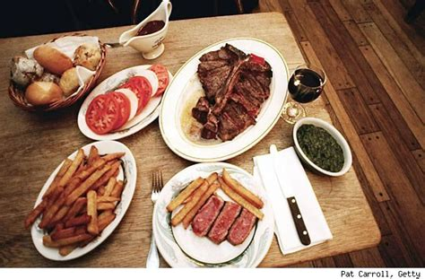 peter luger steak house luxury photos and articles stylelist