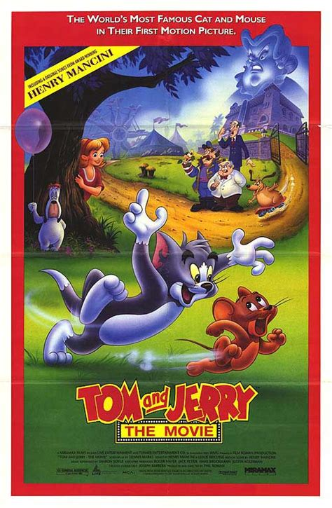 cartoon film of tom and jerry tom and jerry the movie movie posters at movie poster