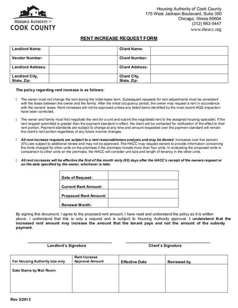 rent increase letter landlordstation com