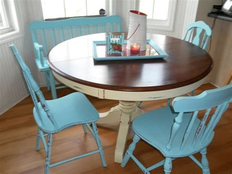 kitchen table ideas for refinish house pinterest