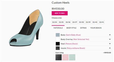 Sandal Wanita Made Custom tempah custom made kasut wanita secara