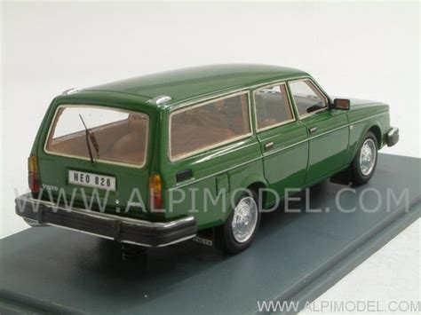 volvo international site neo volvo 245 dl 1976 dark green 1 43 scale model