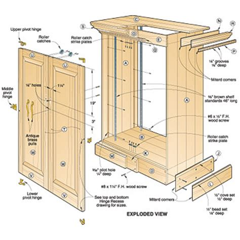 armoire plans free diy wood design free diy woodworking plans jewelry armoire