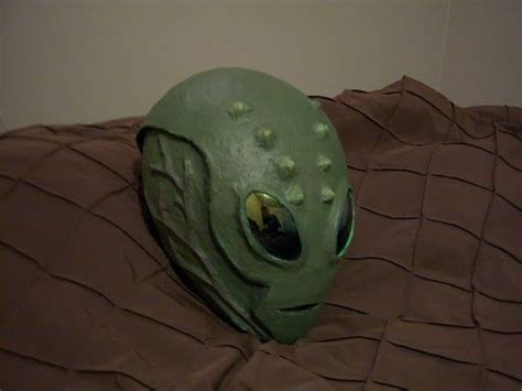 A Paper Mache Mask - realistic costume papier mache pictures of and aliens