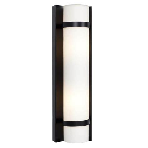 glomar adria 2 light textured black sconce with alabaster