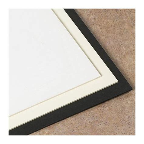 Mat Board Suppliers by 2 Ply White Museum Matting Board