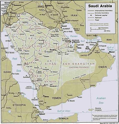 arabian peninsula map the arabian peninsula map