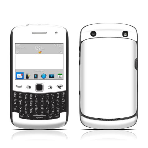 Hp Blackberry Curve 9300 White solid state white blackberry curve 9300 series skin istyles
