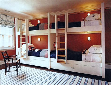 Room With Bunk Beds Bunk Room Cool Cribs