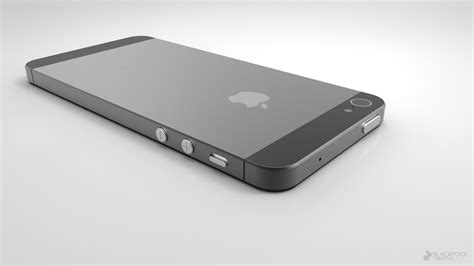 gorgeous high res 3d iphone 5 rendering created based on