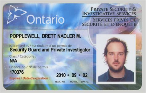 Security Officer License by 80 And I M A Security Guard Toronto