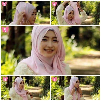 tutorial berhijab untuk pesta tutorial hijab untuk pesta 7
