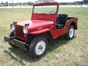 1952 cj 3 willys jeep john colwell