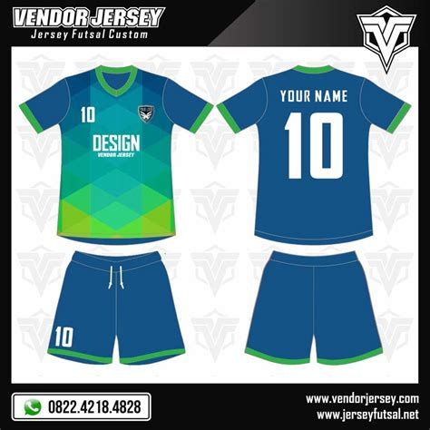 Baju Jersey Futsal desain baju futsal abstract vendor jersey