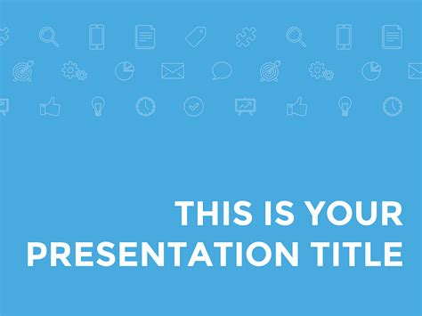 Free Presentation Template Blue And Corporate Powerpoint Slides Templates Free