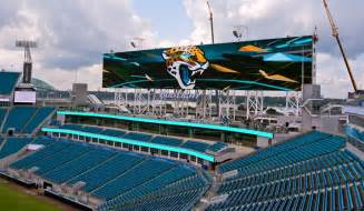 Where Is The Jacksonville Jaguars Stadium Jaguars To Unveil World S Largest Boards