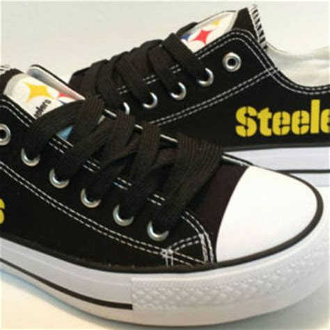 pittsburgh steelers sneakers pittsburgh steelers canvas shoes from bellareyna2012