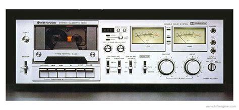 Stereo Cassette Deck by Kenwood Kx 1060 Manual Stereo Cassette Deck