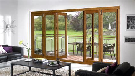Indoor Outdoor Doors Vufold S Bifold Style Folding Sliding Doors Complete The Indoor Outdoor Living