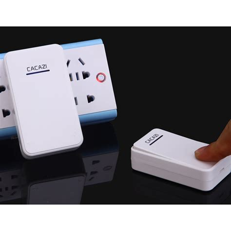 Cacazi A8 Bel Pintu Wireless Remote Doorbell Led 48 Tune 1pcs Receiver cacazi a8 bel pintu wireless remote doorbell led 48 tunes 2pcs receiver black