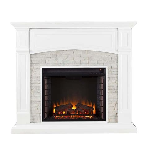 southern enterprises seneca faux electric fireplace