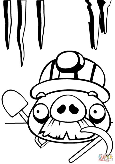 angry birds coloring pages games printable angry birds pigs coloring pages free coloring