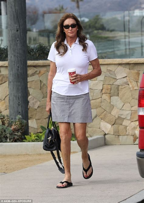 Cait Skirt Orange zeen caitlyn jenner goes on daily coffee run in malibu in