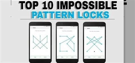 Pattern Ideas For Android | 18 hardest pattern lock ideas for android phone and tab