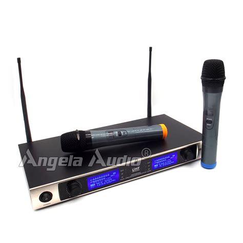Mic Aiwa 16 Wireless Uhf Profesional professional uhf microphone wireless karaoke system dual