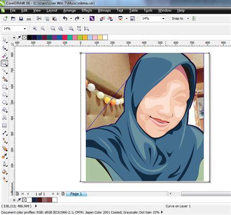 tutorial membuat vektor dengan corel draw ide remaja tutorial membuat vektor muka kartun dengan