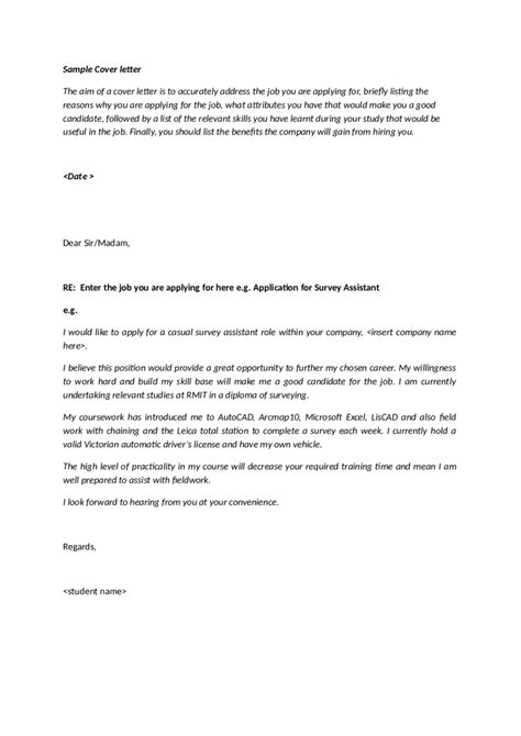 sle cover letter for federal job choice image letter