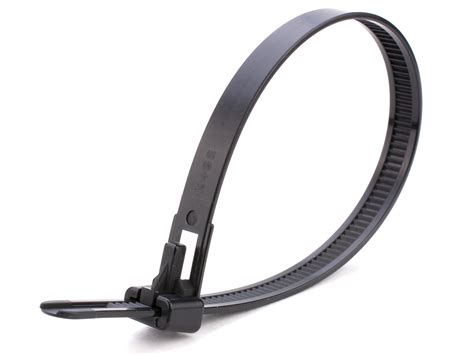 Cable Tie 25 Cm 12 inch black releasable cable tie 100 pack secure