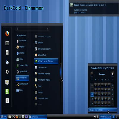 gnome themes cinnamon darkcold 1 8 cinnamon theme 1 8 www gnome look org