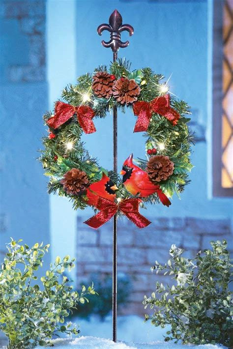 tall christmas light stakes cardinal yard stakes wikii